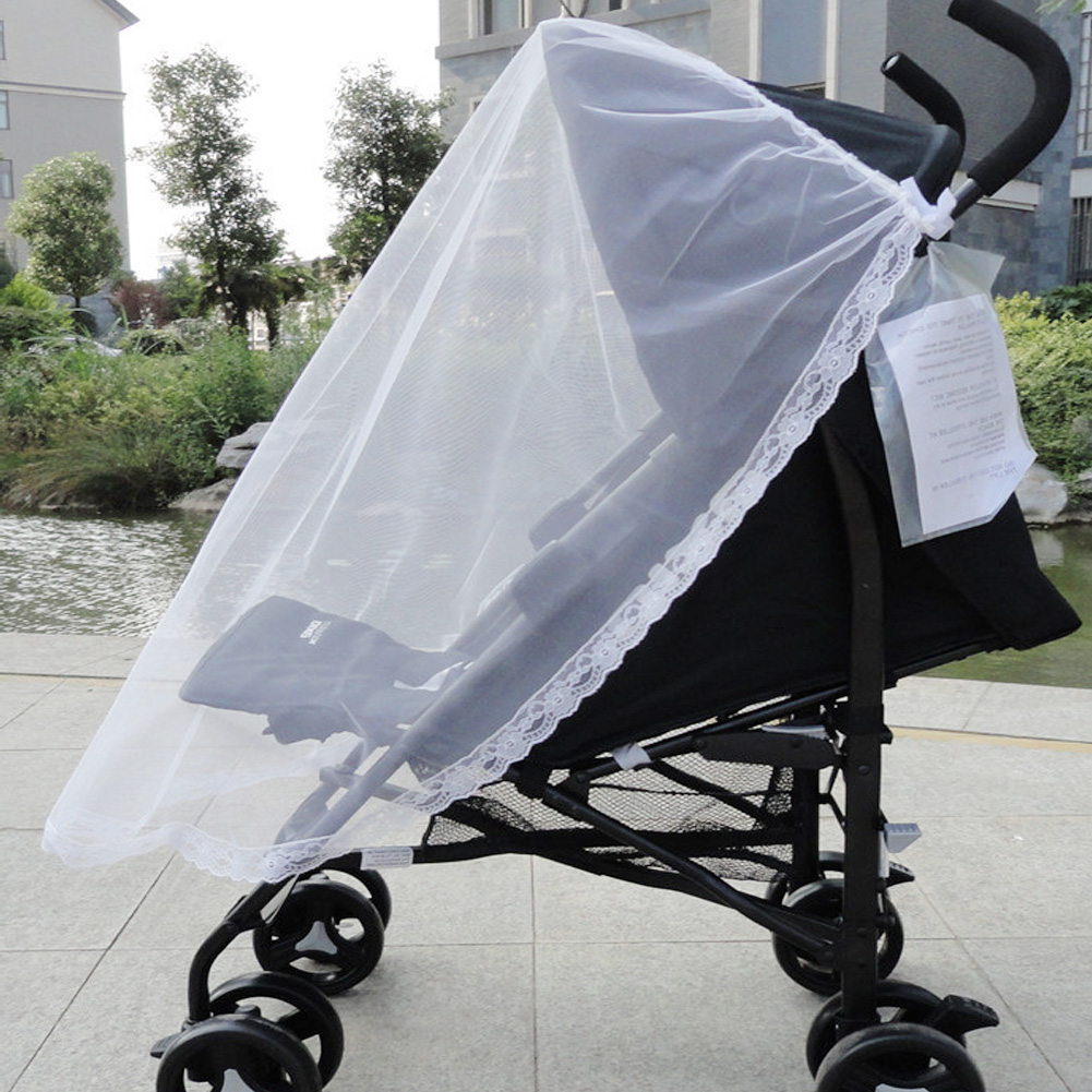 Baby Stroller Accessories Kids Mosquito Net Infant Newborn Baby Protection Mesh For Strollers Carriers Car Seats