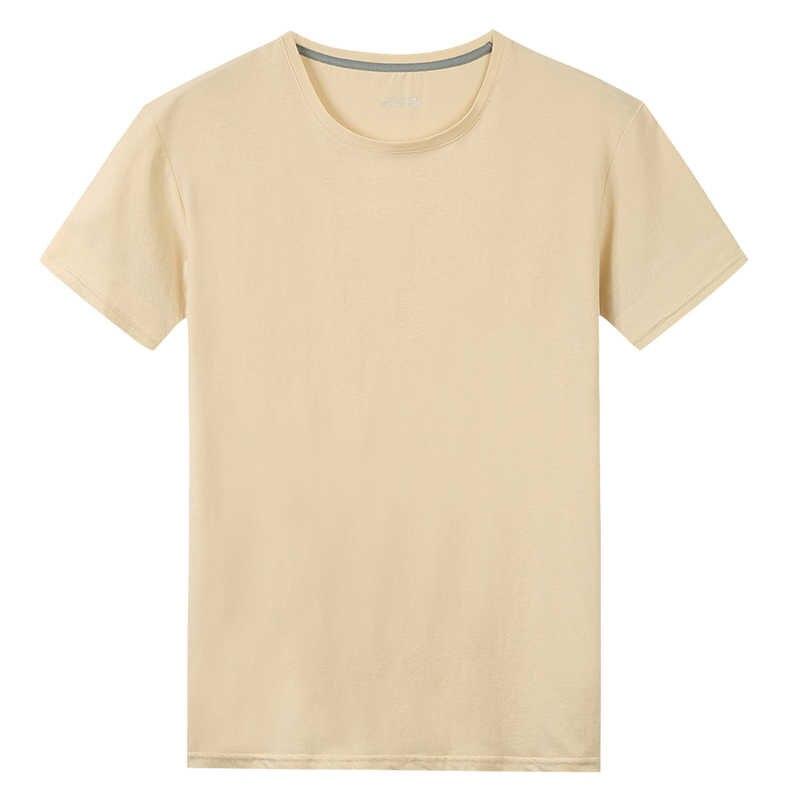 Envío gratis de camisetas de algodón de 100% para hombre y mujer, Camisetas Básicas de algodón liso de talla grande 5XL