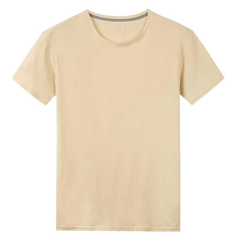 Livraison gratuite T-Shirts hommes femmes 100% coton été court solide mâle femme basique T-Shirts plaine col rond grande taille 5XL T-Shirts chemise
