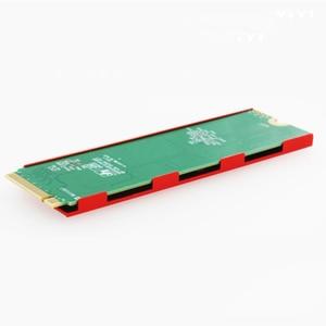 Image 5 - M.2 NGFF/NVMe SSD Cooler Heatsink Hard Disk Radiator Fin Thermal Cooling Pad Good quality2019