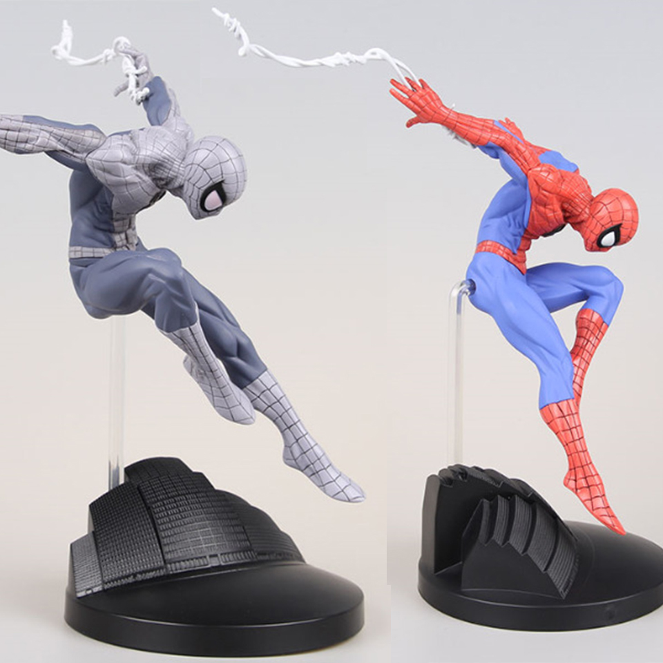 SAINTGI Spider-Man Purple Venom First Generation Harmonia Edition Rare Amazing Marvel PVC Collectible Avengers Movable Body 15cm
