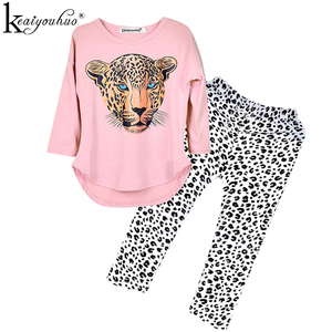 Girls Clothes Autumn Toddler Girl Clothes Sets Long Sleeve Costume Kids Outfit Suit Children Clothing Set 3 4 5 6 7 8 9 10 Years()