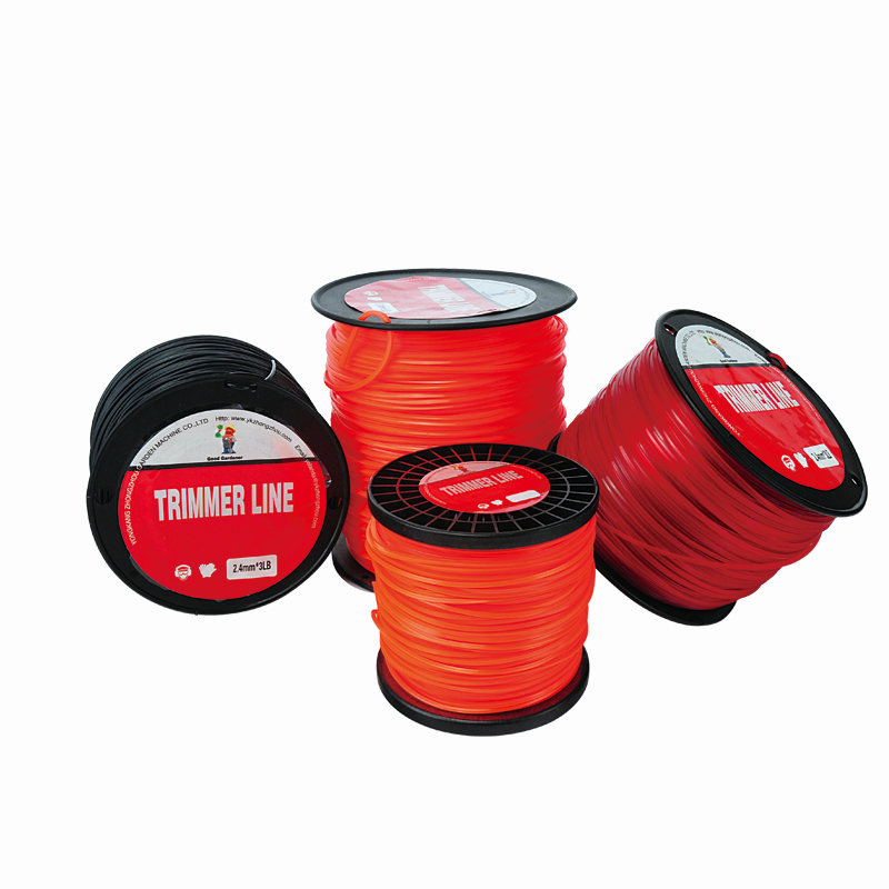 Hot Sales 1LB Spool Pack-2.4mm Trimmer Line, Nylon Line ,brush Cutter Parts, Grass Trimmer,brush Cutter Rope