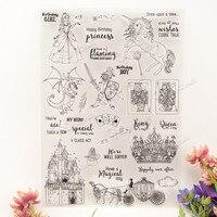 Letter Design Transparent Stamp DIY Scrapbooking For Wedding Gift Christmas Gift For Paper Card