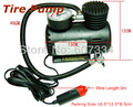 Tire Pump for Vehicle by car cigarette lighter 12V socket