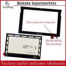 """Original 10.1 """"MEDION LIFETAB S10346 MD98992 pantalla lcd panel de la pantalla táctil Capacitiva de la Tableta Digitalizador Del Sensor de Cristal Envío Gratis"""