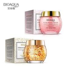 2pcs Bioaqua Sleep Face Mask Rose Petals korean CosmeticDeep
