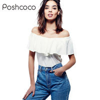 Of European And American Wind All Match White T Shirt Women Slim Shirt Collar Sexy