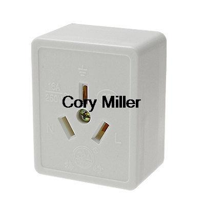 Power Socket Wall Plate Oulet 250V 16A 3 Pin AustraliaPower Socket Wall Plate Oulet 250V 16A 3 Pin Australia