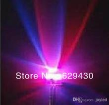 Wholesale - Free shipping straw hat 4.8/5mm RGB 7 color fast flash LED light-emitting diode (LED)