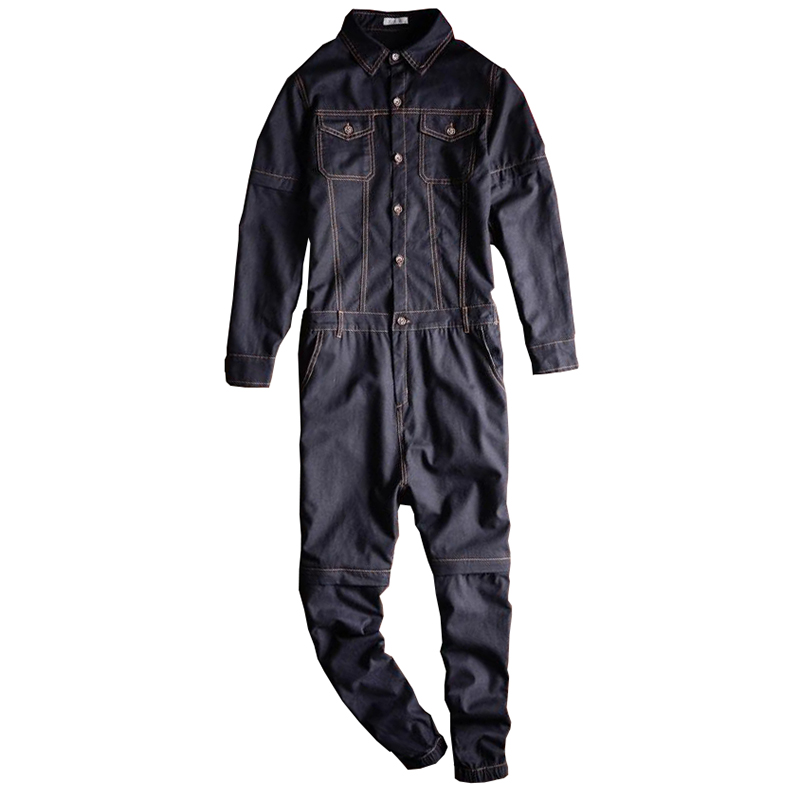 Sokotoo Men's Linen Detachable Sleeve Short Jumpsuits Joggers Two Way Overalls Black Purple
