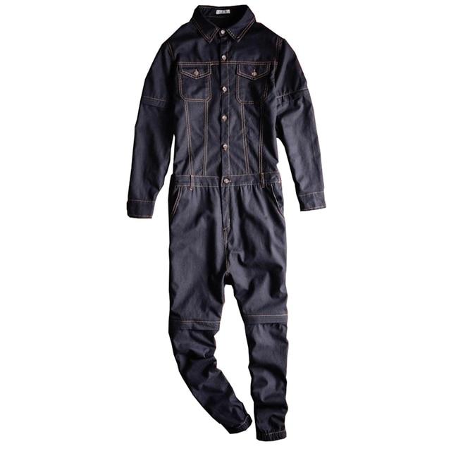 Sokotoo Men's linen detachable sleeve short jumpsuits Joggers Two way overalls Black Purple 1