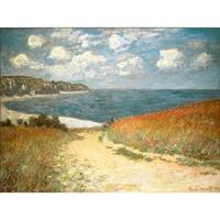 Weg Durch das Mais zu Pourville  durch Claude Monet Reproduktion ölgemälde Leinwand kunst Handgefertigte High quality
