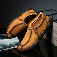 CIMIM Shoes Men Casual Mens Loafers Leather Italian Driving Moccasins Men Shoes Big Size Slip On