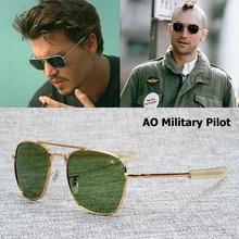 JackJad New Fashion Army MILITARY AO Pilot 54mm Sunglasses B