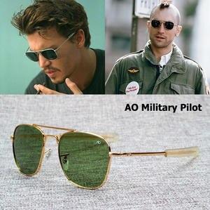 95c067ac6ac JackJad Pilot Sunglasses Optical Glass Lens Sun Glasses