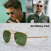 JackJad New Fashion Army MILITARY AO Pilot 54mm Sunglasses B