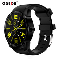 OGEDA K98H 3G GPS Wifi Men Smart Watch Android 4.1 Support SIM Heart Rate Tracker 4GB ROM Waterproof Bluetooth Smart Watch Male