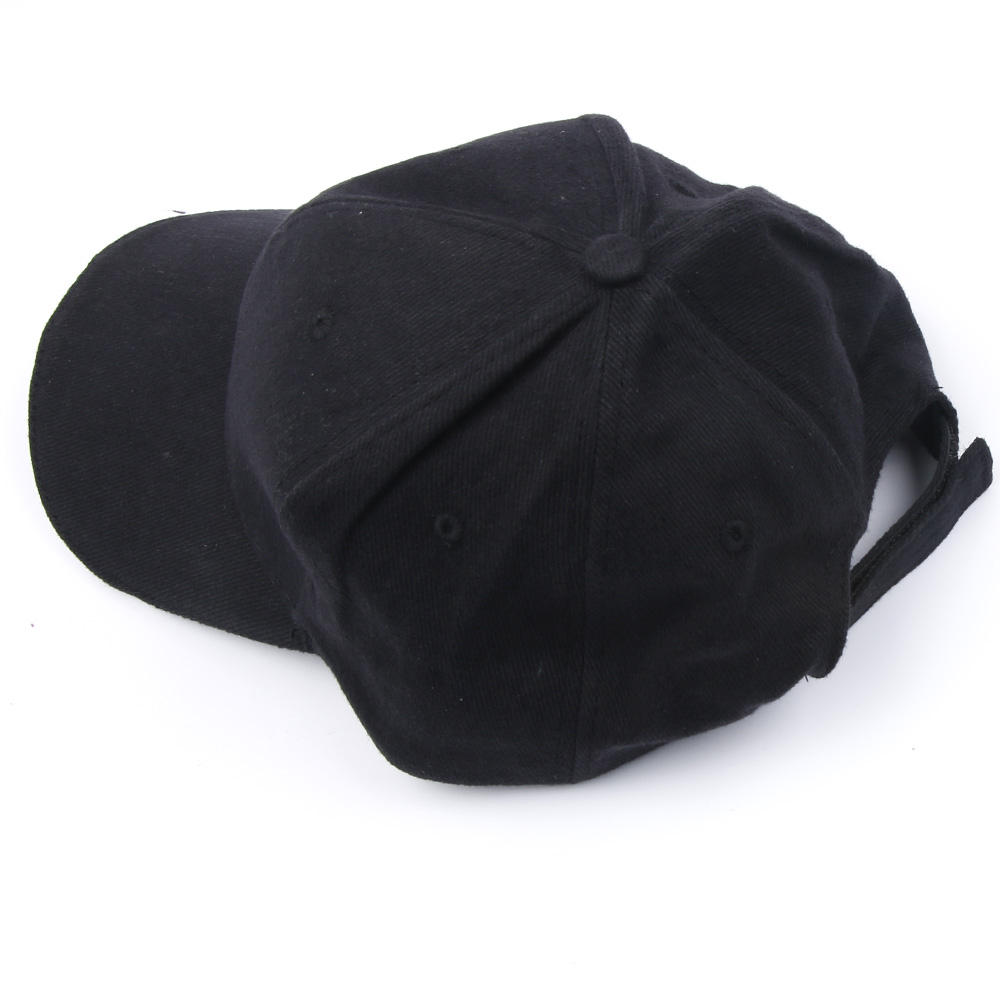 Outdoor Unisex 5 Lighted Cap Black Novelty FastenerTape Baseball Hat - Kläder tillbehör - Foto 3