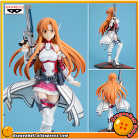 Japan Anime Sword Art Online: Fatal Bullet Original Banpresto Collection Figure ASUNA