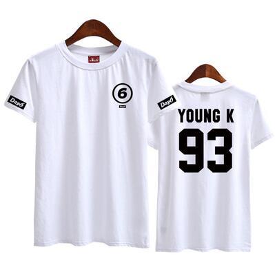 Day6 Band Member T-Shirts - Kpop Merchandise