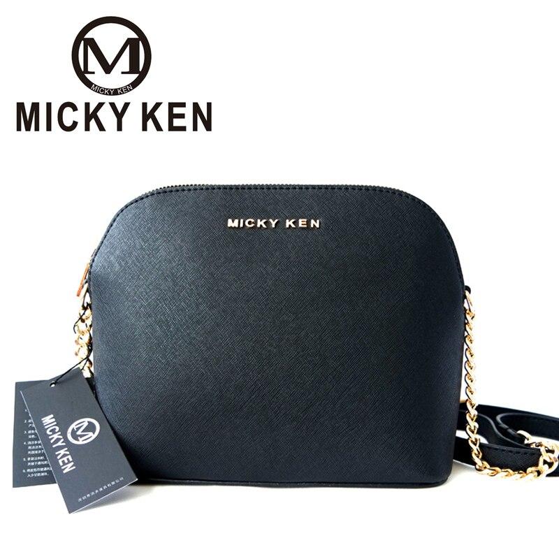 MICKY KEN brand 2017 designer Handbags lady Shell Bags Cross body women messenge