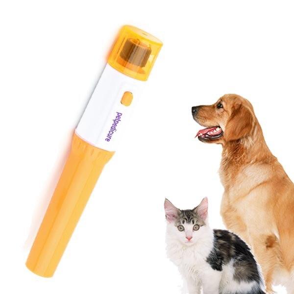Электрическая пилочка для ногтей, набор для собак, кошек, домашних животных, машинка для стрижки ногтей, триммер, машинка для стрижки, новейший популярный поиск