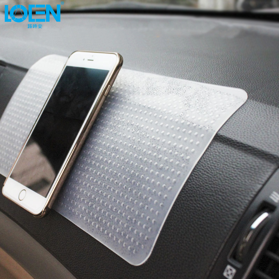 Loen Car Styling Phone Mat Auto Interior Accessories Anti