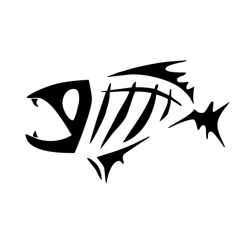 Online Get Cheap Decals For Boats Aliexpresscom Alibaba Group - Fishing decals for trucks
