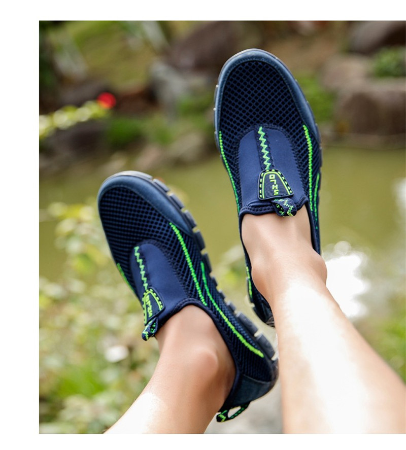2019 Summer Men Shoes Mesh Breathable New Listing Male Shoes Light Weight Outdoor Walking Sneakers Men Comfortable Casual Shoes