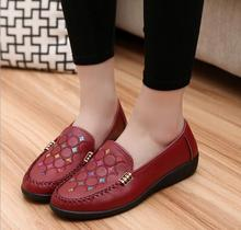 Free shipping!!! Big yards for women's shoes new pattern sewing shoes 2016 high-grade leather 35 -43