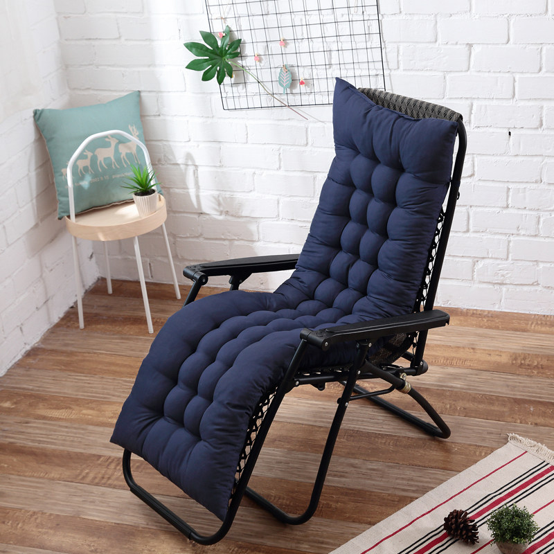 Cushions Seat 48x155cm Recliner Rocking Chair Mat Thicken Rattan Chair Cushion Garden Chair Cushion Long Cushion