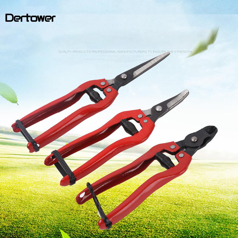 DERTOWER Gardening Scissor made of High Carbon Steel for Grafting Bonsai and Fruit Tree 1