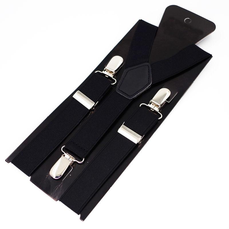 Kids Suspenders 3 Clips Boy's Braces Baby Tirantes Elastic Bretelles Belts Student Suspensorio 2.5*65cm