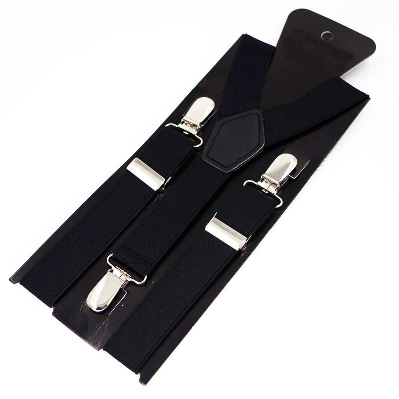 Kids Suspenders 3 Clips Boys Braces baby Tirantes Elastic Bretelles Belts Student Suspensorio 2.5*65cm