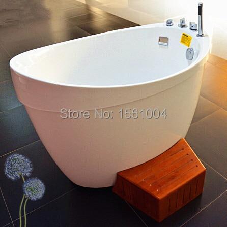 Smart Bubble Bath Tub with Wood, Air Bubble Massage Bathtub Adults ...