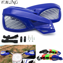 Universal motorcycle wind shield handle hand guard ABS motocross Accessories transparent handguards for various models all year