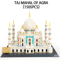 Legoed city Lepin Architecture Series The Taj Mahal of Agra Building Blocks Bricks model kits Toy For Children with 10189 17008