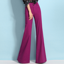 LYFZOUS Female Casual Skinny Wide Leg Pants High Quality Thin White Linen Trousers With Pockets For Ladies Women Spring Summer