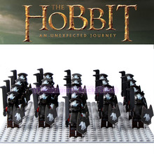 Władca pierścieni korpus Witch king RingWraith król martwej armii Mordor LegoING figurka klocki zabawki dla dzieci