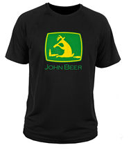 Cool John Beer men's t-shirt