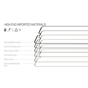 "Image 3 - 2 sztuk dla Lenovo K5 Pro 5.99 ""L38041 K5pro 2018 szklany ekran Protector pełna pokrywa szkło hartowane ochronne 9H 2.5D szklana folia"