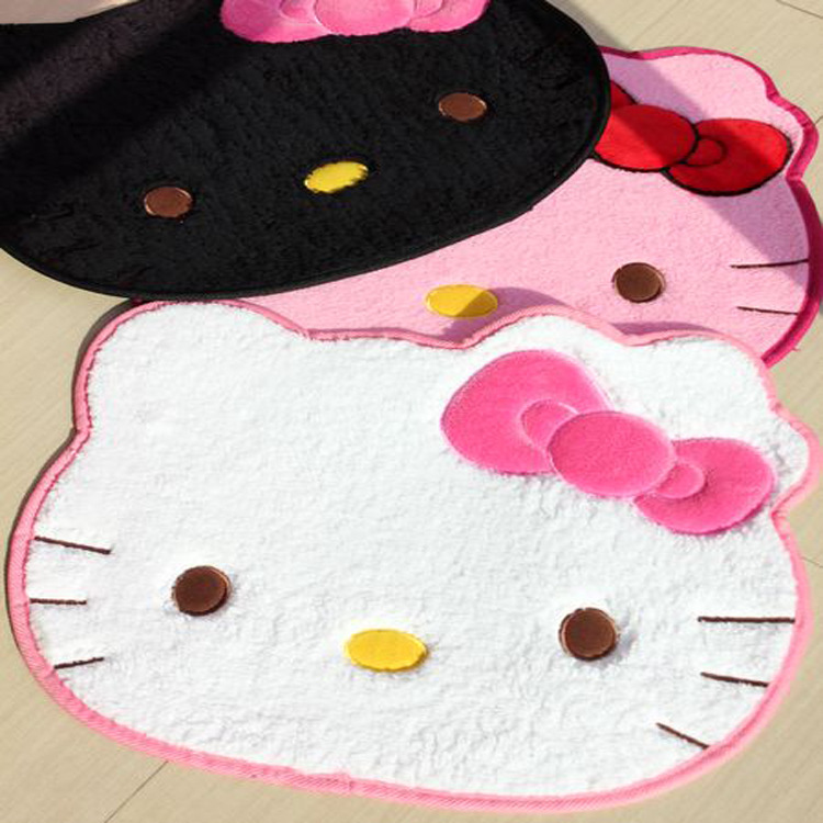 Wonderful Aliexpress.com : Buy 2017 New Pink Hello Kitty Floor Mat Doormat Cute Car  Rugs Kitchen Carpets For Bedroom Cartoon Carpets For Living Room From  Reliable ...