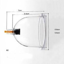 10 pièces B1/B2/B3/B4/B6 acupuncture ventouses sous vide boîtes de taille mixte tasse ensemble
