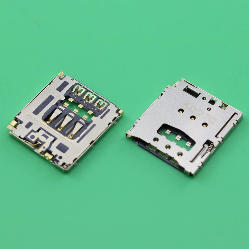 YuXi 2pcs/lot New SIM Card Socket Slot Tray Reader Holder Connector for Lenovo A805E A816 A768T 4G