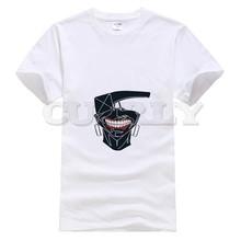 2019 suprem short sleeve Tokyo Ghoul Men funny t shirts oggai Ken / Sasaki men tshirts fashions Mens Clothing