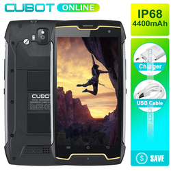 Cubot KingKong IP68 2GB RAM 16GB ROM MT6580 Quad Core Mobile Phone 5.0 Inch HD 4400mAh Waterproof Dustproof Smartphone