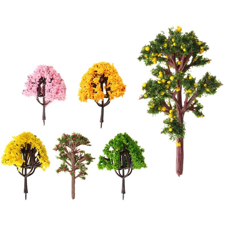 1pc Artificial DIY Potted Miniature Tree Plants Fairy Garden Accessories  Ornament Decor Micro Landscape Garden Display Materials In Figurines U0026  Miniatures ...