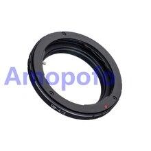 Amopofo, OM-4/3 Adaptador para Olympus OM Lens para Quatro Terços 4/3 OM4/3 E1 E3 E30 E330 E620 Adaptador E520
