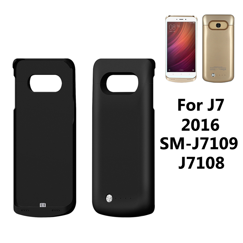 4200mAh Battery Case For Samsung J7 2016 SM-J7109 J7108 Protective Charger Extended Power Bank Charging Phone Cover image